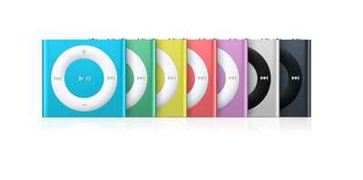 iPod Shuffle product family