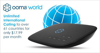 Ooma World Plan