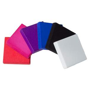 Swatches of Different Color Options in Nylon Plastic