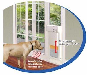 Amazon Com Power Pet Large Electronic Pet Door Px 2