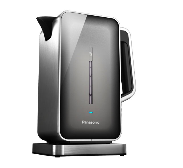 """Panasonic """"Breakfast Collection"""" NC-ZK1H Water Kettle, Stainless Steel"""
