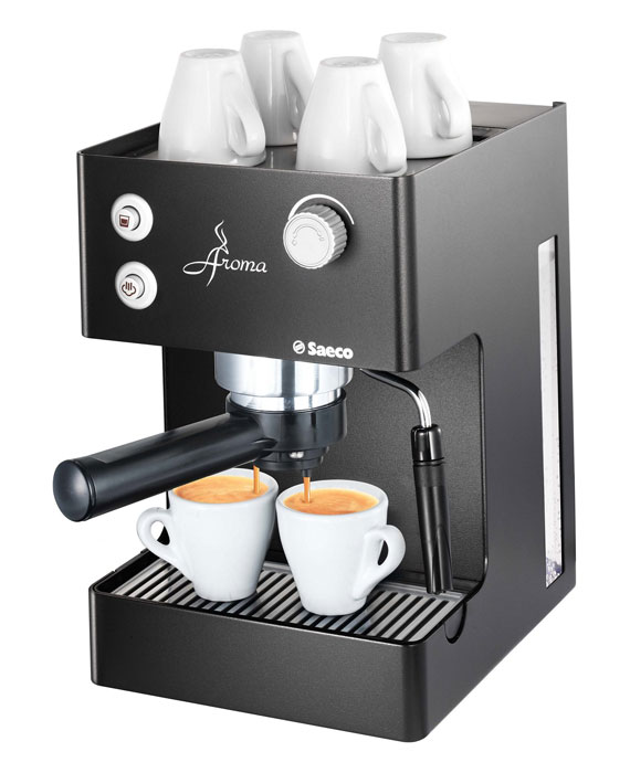 saeco 00347 aroma espresso machine black. Black Bedroom Furniture Sets. Home Design Ideas