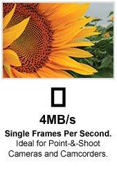 4 MB/s Single Frames per Second