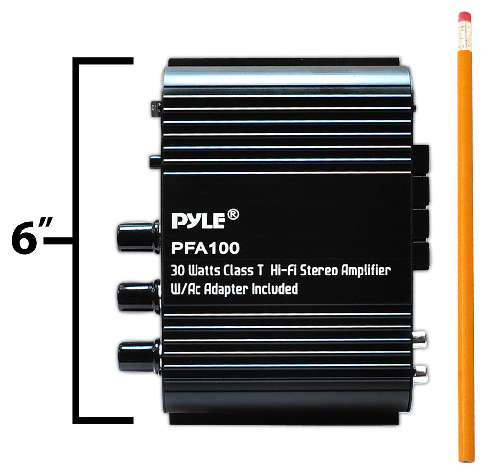 Pyle - Pfa100 - Home And Office - Amplifiers