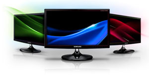 Samsung Series 1 23.6-Inch LED Monitor (S24B150BL) Product Shot