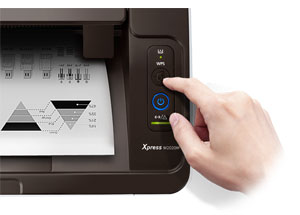 Samsung Xpress M2020W Printer Product Shot