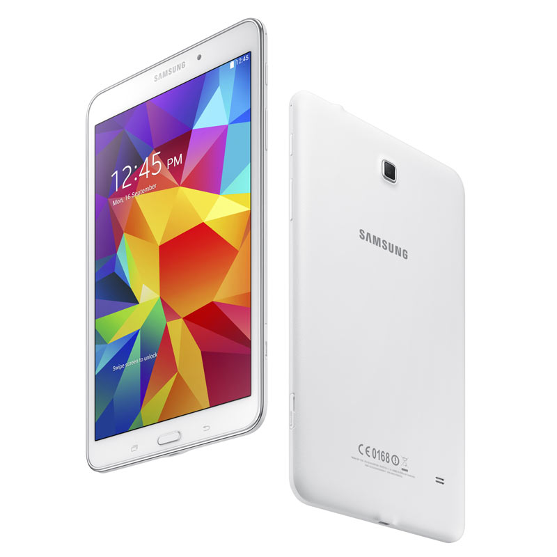 samsung galaxy tab 4 8 inch white computers. Black Bedroom Furniture Sets. Home Design Ideas