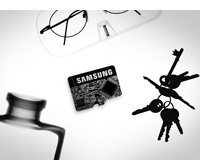 Samsung EVO 64GB microSD Memory Card with Adapter Product Shot