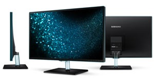 Samsung 27-Inch LED Monitor SD390H Product Shot
