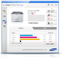 Samsung Printer Xpress SL-M2825DW Mono Laser Wireless Printer Product Shot