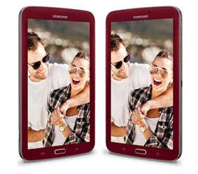 Samsung Galaxy Tab 3 7.0 Garnet Red Edition