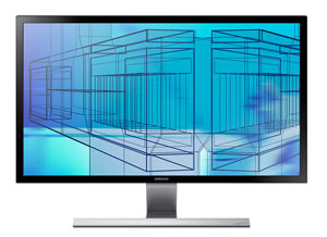 Samsung 28-Inch LED Monitor UD590D Product Shot