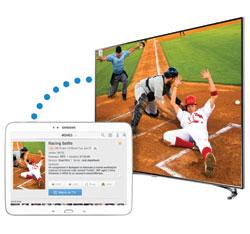 Control and share content with Samsung 2013 Smart Tv
