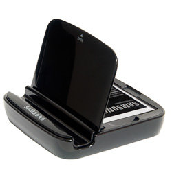 Samsung Galaxy S3 Stand and Spare Battery Charger (2100mAh Battery