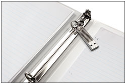 Cruzer Facet USB Flash Drive - Silver Product Shot