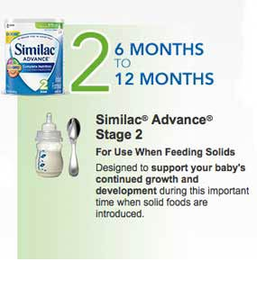 Similac Stage 2 from 6 months to 12 months