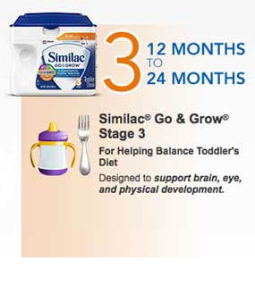 Similac Stage from 12 months to 24 months