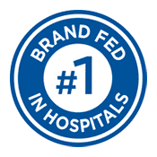 Number one brand fed in hospitals