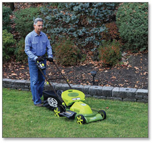 Sun Joe Mow Joe 20-IN Bag/Mulch/Side Discharge Cordless Self-Propelled Lawn Mower
