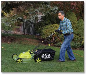 Sun Joe Mow Joe 20-IN Bag/Mulch/Side Discharge Electric Lawn Mower
