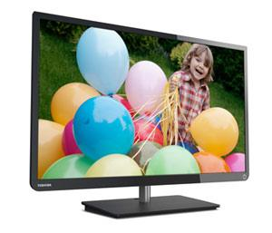 Toshiba 58L1350U 58-Inch 1080p 120Hz LED HDTV Product Shot