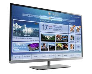 Toshiba 58L4300U 58-Inch 1080p 120Hz Smart LED HDTV with Built-in WiFi Product Shot