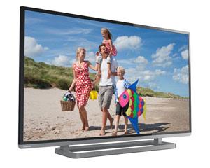 Toshiba 50L2400U 50-Inch 1080p 120Hz LED HDTV (Black/Gun Metal) Product Shot