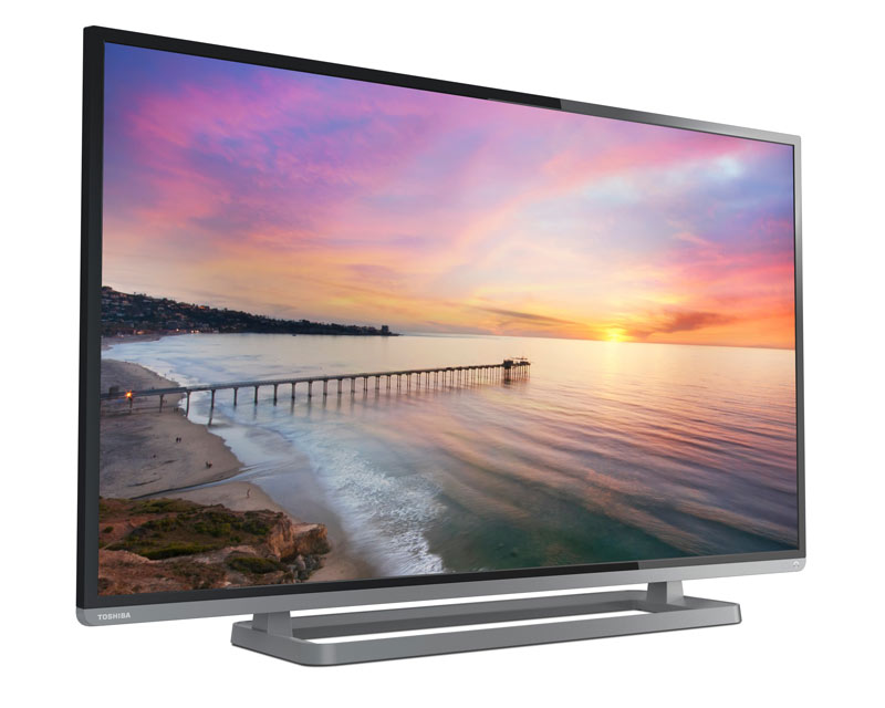 Toshiba 50L3400U 50-inch 1080p 120Hz Smart LED HDTV (Black) Product