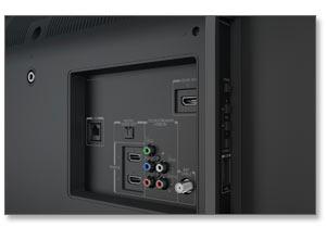 Toshiba 50L3400U 50-inch 1080p 120Hz Smart LED HDTV (Black) Product Shot