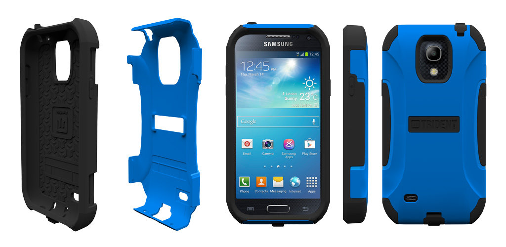 Case AG-SAM-S4-BK AEGIS Series Protective Case for Samsung Galaxy S4