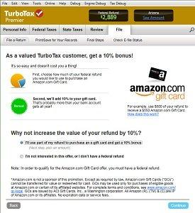 Get a 10 percent bonus