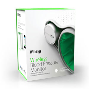 Withings Blood Pressure Monitor box