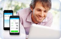 Blood Pressure monitoring made simple.