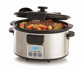 6-Quart 13722 Programmable Slow Cooker with Locking Lid Product Shot