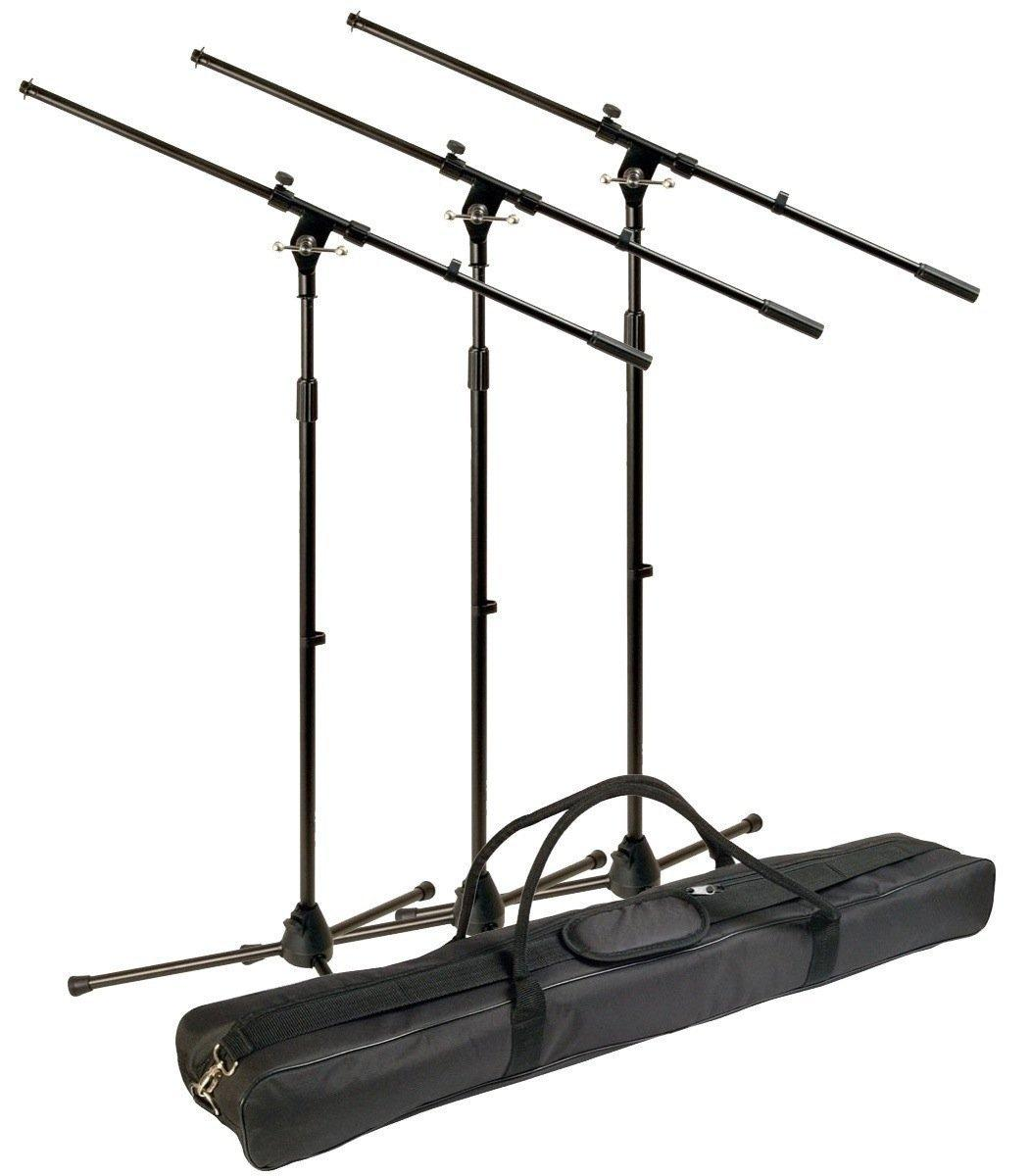 World tour msp300 microphone stand pack of 3 for Stand pack