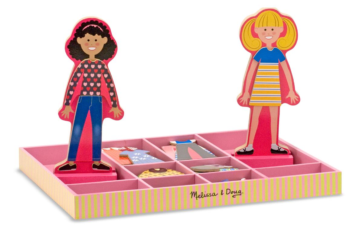 Toys For 2 And Up : Amazon melissa doug abby emma deluxe magnetic