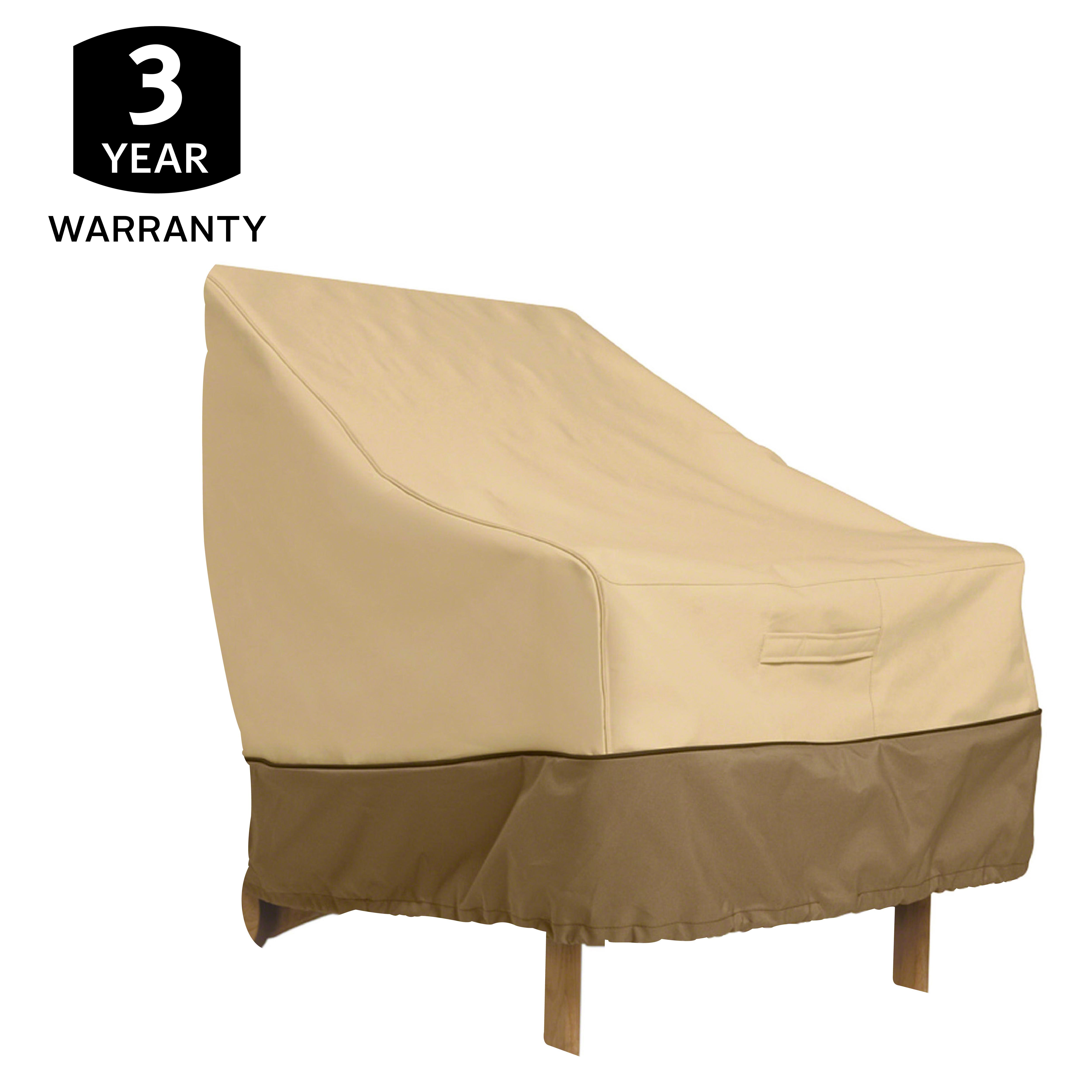 Classic Accessories Veranda Patio Lounge Chair Cover Veranda Furniture Covers