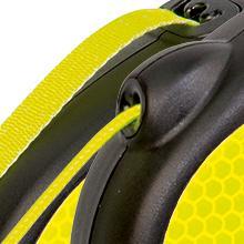 flexi Neon, cord, tape, dog leash
