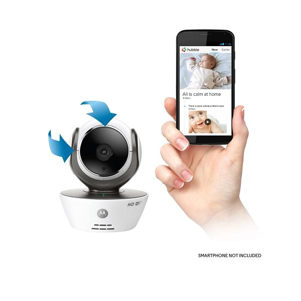 motorola mbp85connect wi fi video baby monitor camera baby. Black Bedroom Furniture Sets. Home Design Ideas