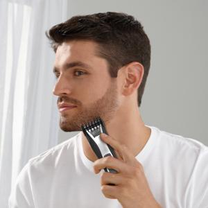 remington hc5550 precision power haircut beard trimmer black hair clippers. Black Bedroom Furniture Sets. Home Design Ideas