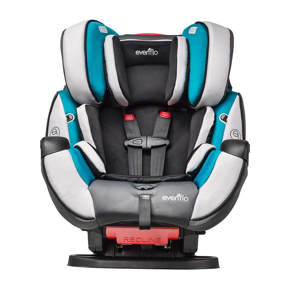 Car Seat Installation Evenflo Symphony  Video