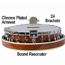 24 bracket banjo