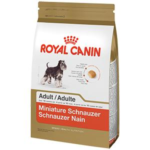 royal canin breed health nutrition miniature schnauzer adult dry dog food 10 pound. Black Bedroom Furniture Sets. Home Design Ideas
