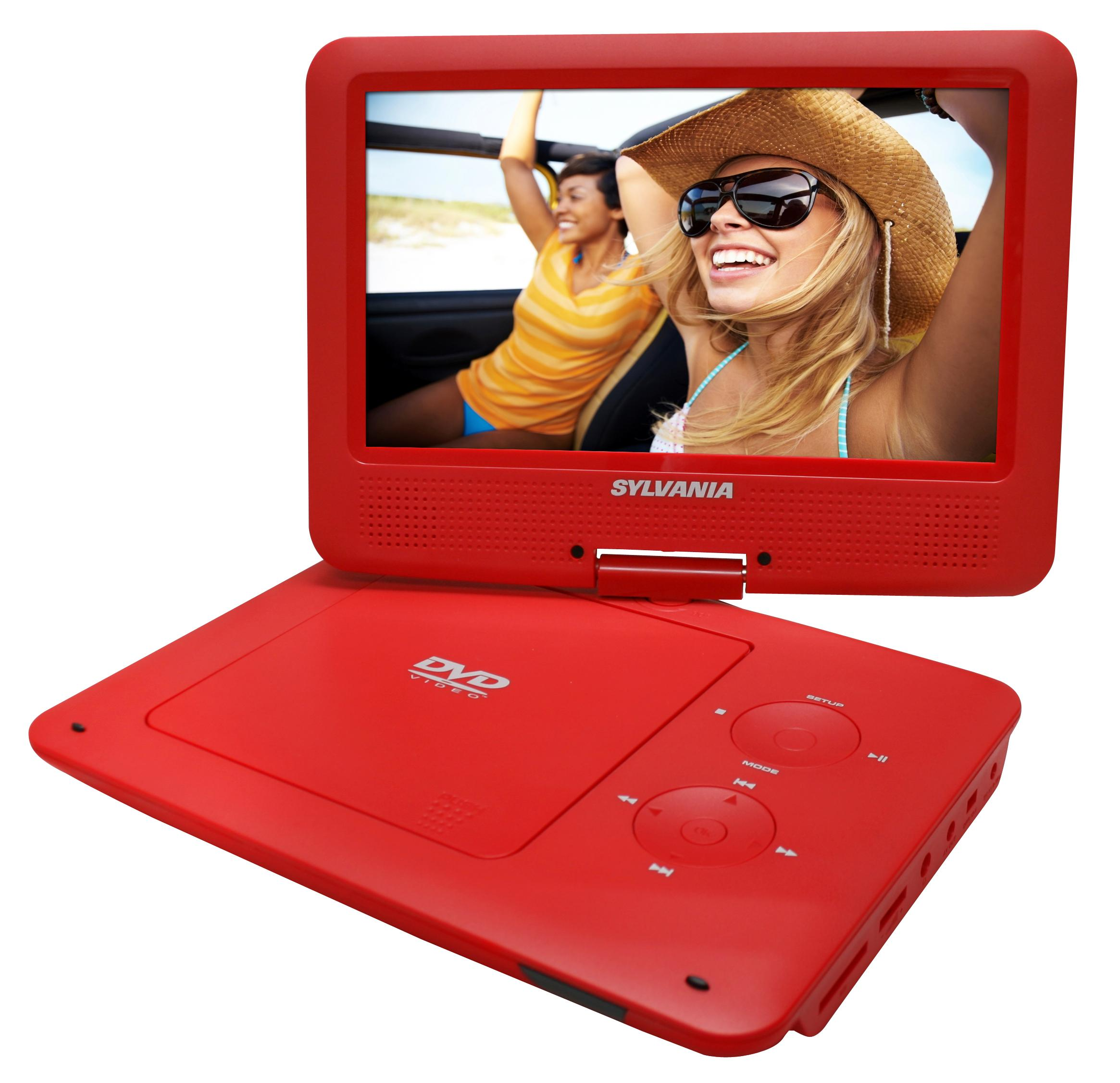 Amazon.com: Sylvania 9-Inch Swivel Screen Portable DVD/CD/MP3 Player with 5 Hour Built-In