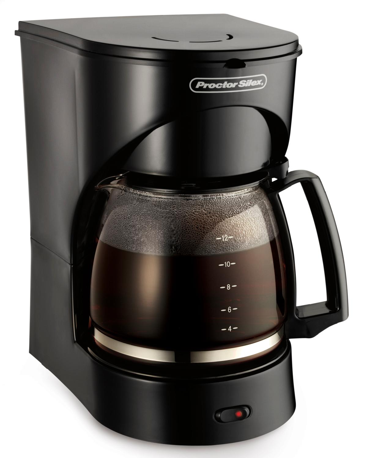 Proctor silex 12 cup coffee maker black Coffee maker brands