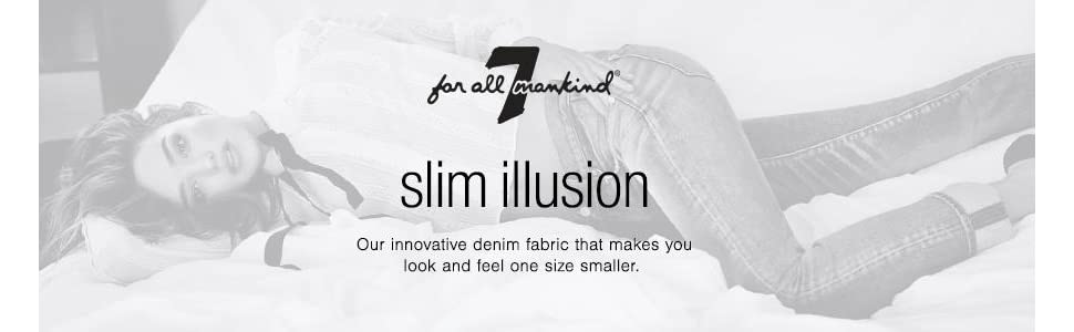 Slim Illusion 7 for all Mankind Jeans