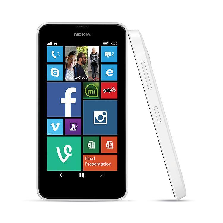 Amazon.com: Nokia Lumia 635 (Windows) White (Virgin Mobile): Cell