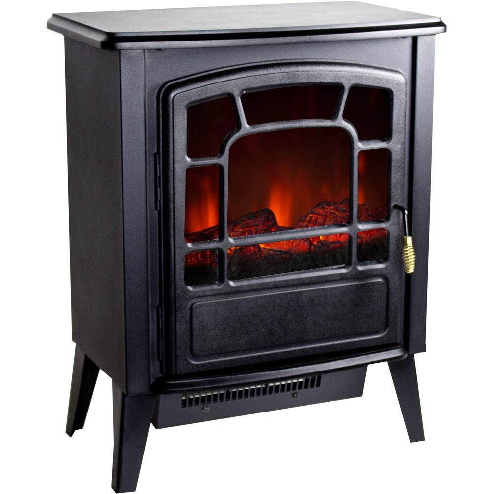 Warm House Rsf 10324 Bern Retro Style Floor Standing Electric Fireplace Space Heaters