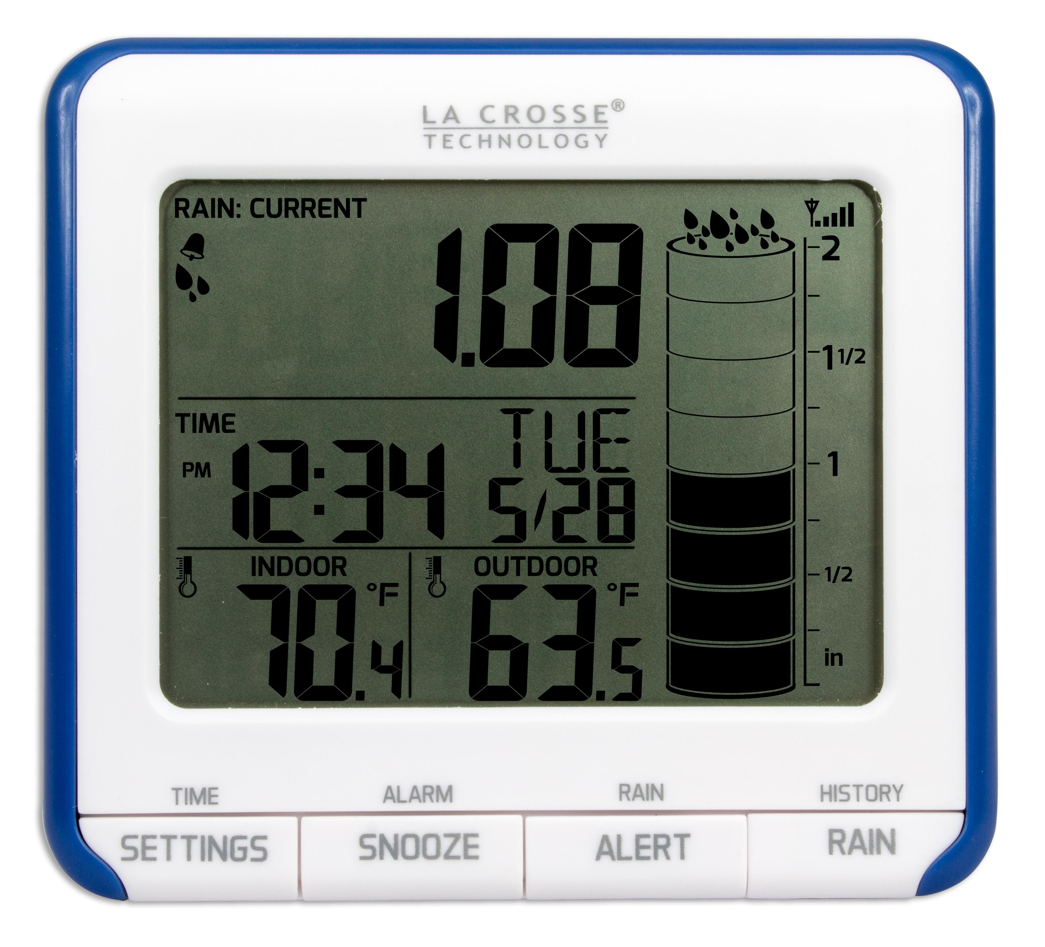 la crosse weather station manual