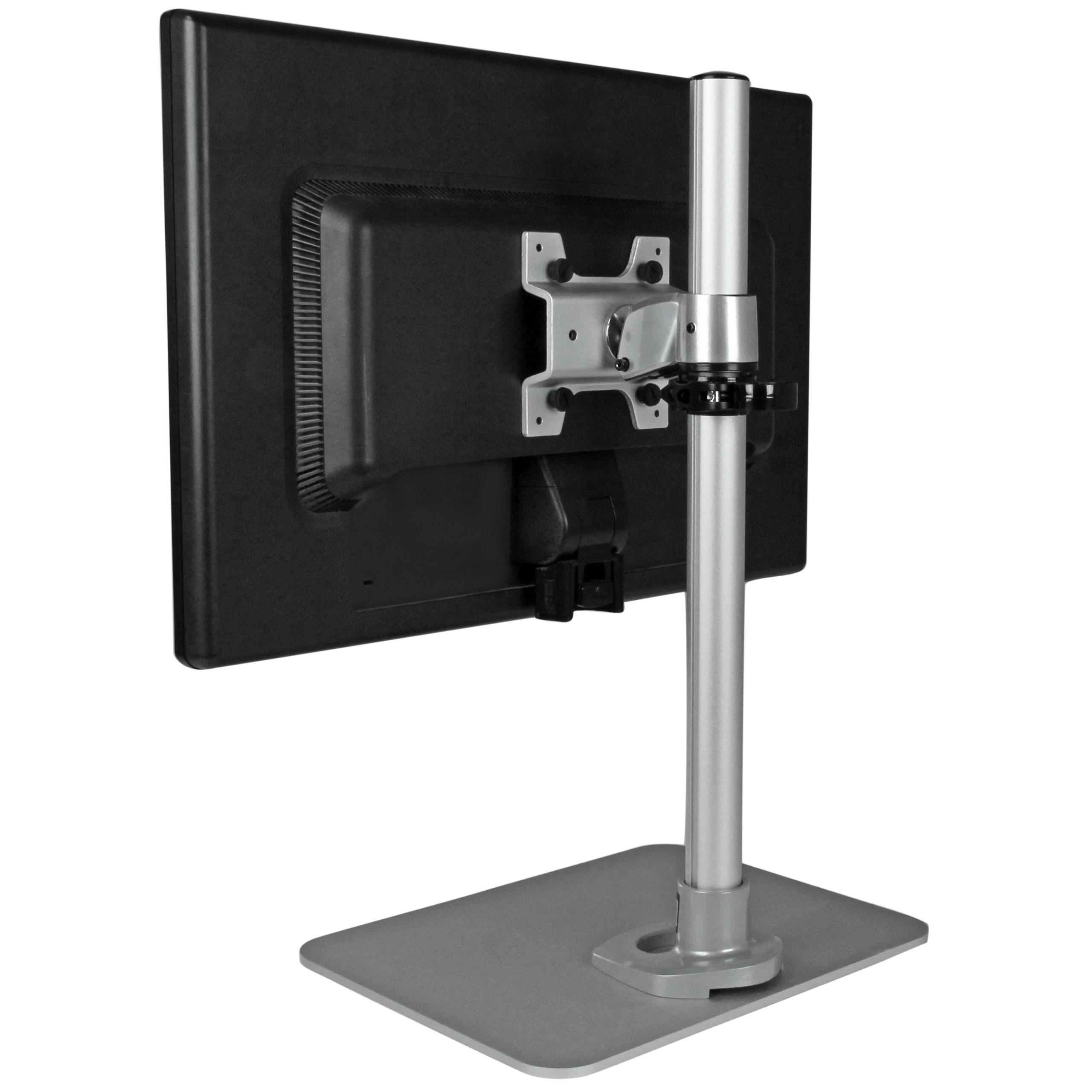 Amazon Com Startech Com Single Monitor Stand Silver